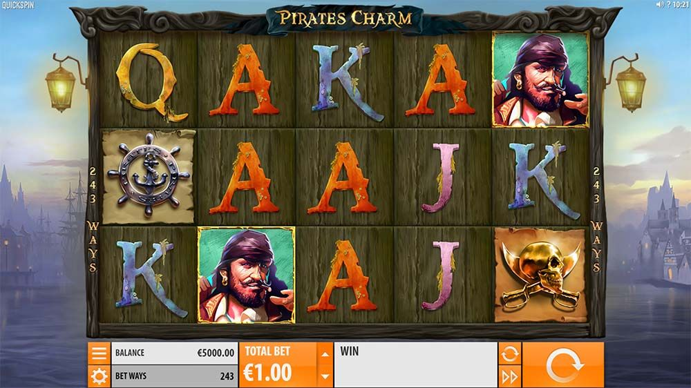 Casino Race Pirate s Charm cops