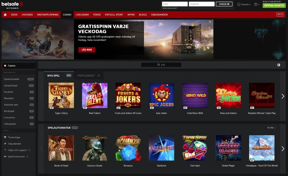 Speedy casino recension E comeOn