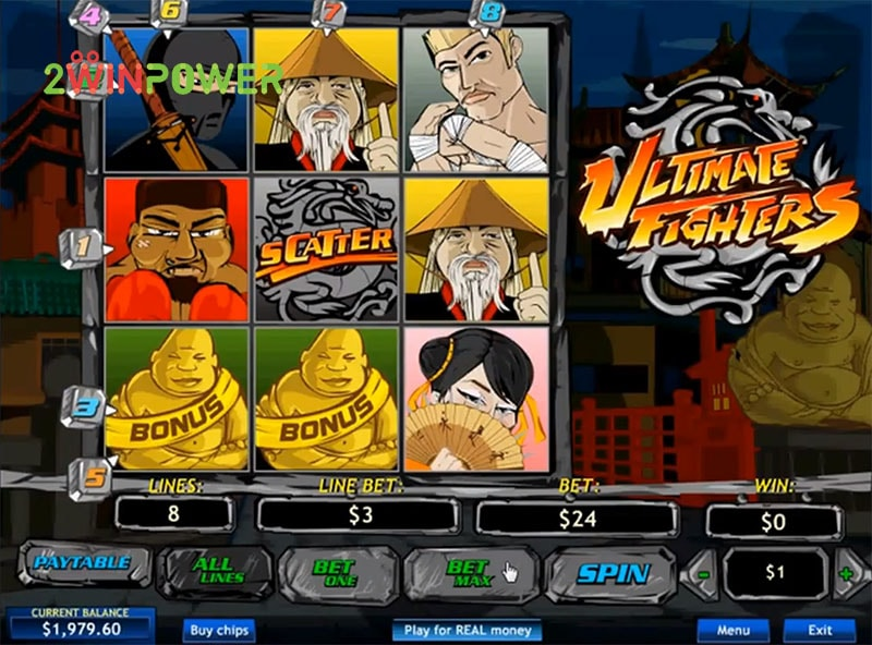 Classy Ultimate Fighters pays