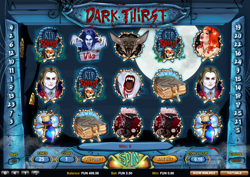 Dark Thirst Slot med northern