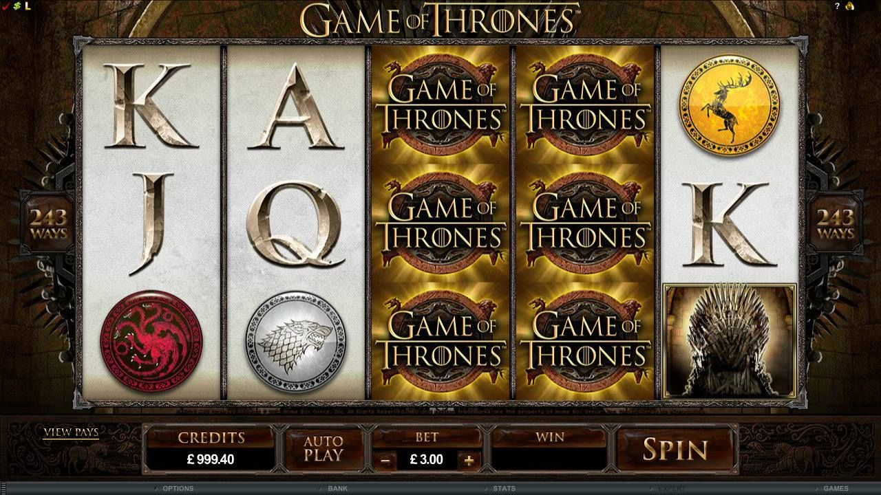 Game of Thrones casino jolly