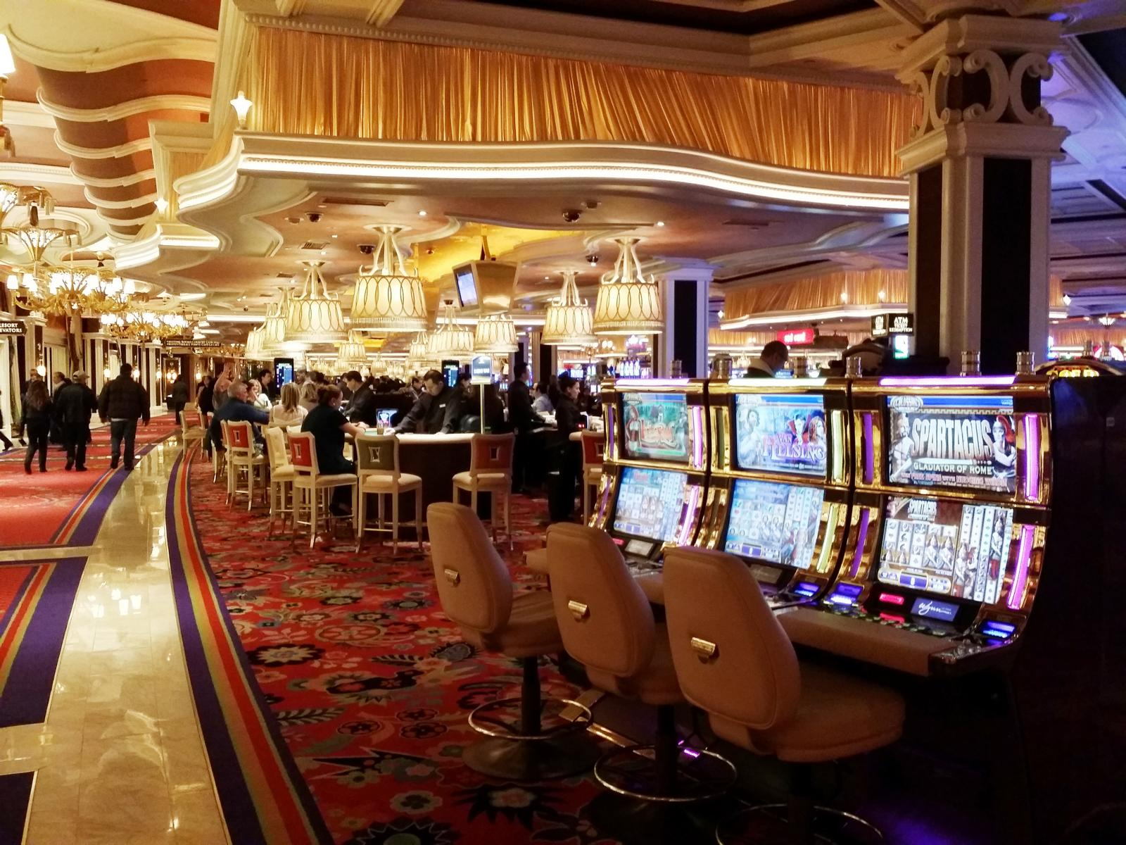 Las Vegas strip hotels Chance automaten
